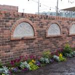 Three Tile Brick Wall Otta Via